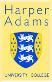 logo Harper Adams University College
